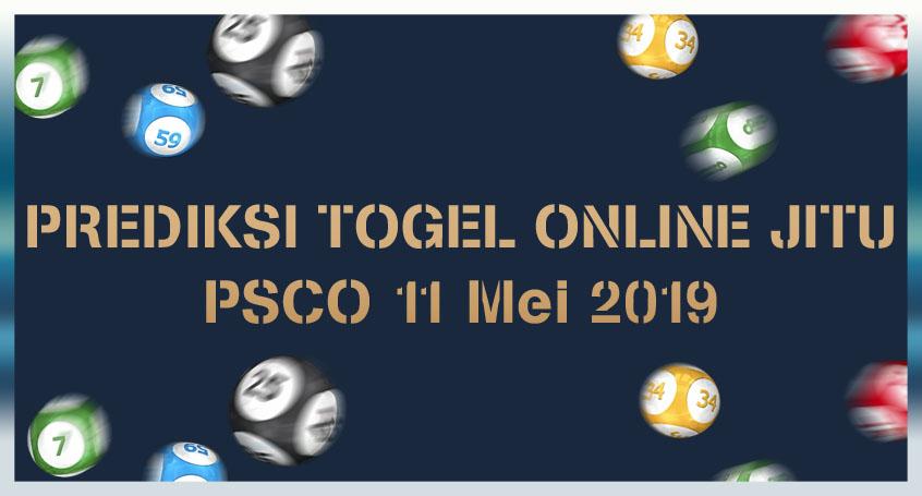 Prediksi Togel Online Jitu PSCO 11 Mei 2019