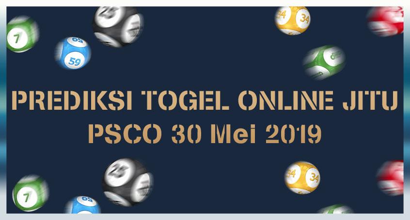 Prediksi Togel Online Jitu PSCO 30 Mei 2019