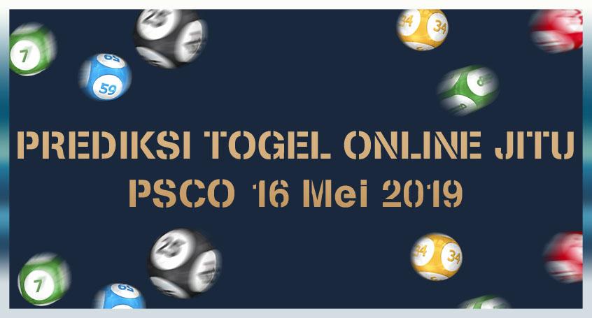 Prediksi Togel Online Jitu PSCO 16 Mei 2019