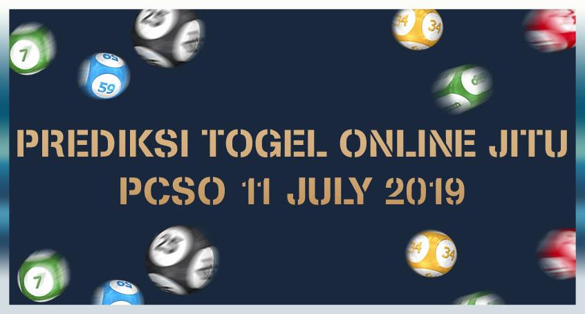 Prediksi Togel Online Jitu PSCO 11 July 2019