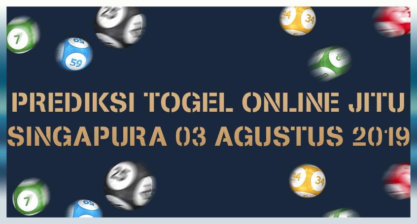 Prediksi Togel Online Jitu Singapura 03 Agustus 2019