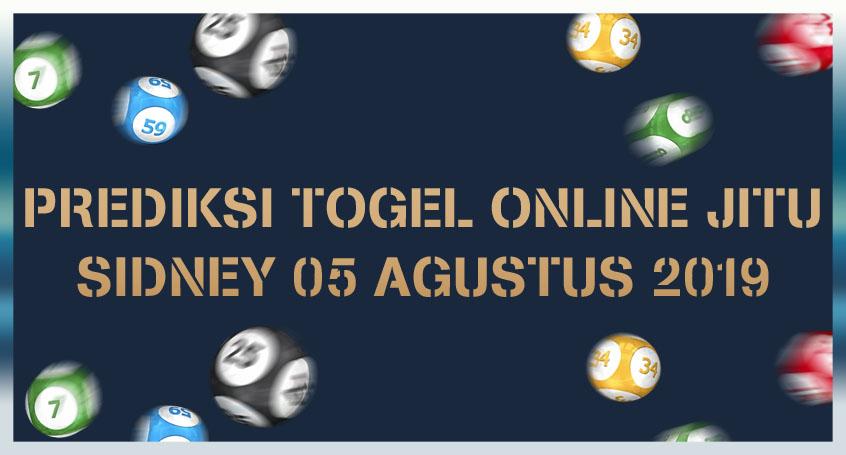 Prediksi Togel Online Jitu Sidney 05 Agustus 2019