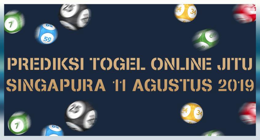 Prediksi Togel Online Jitu Singapura 11 Agustus 2019