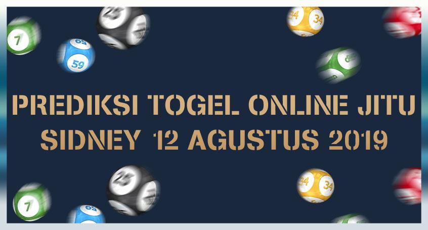 Prediksi Togel Online Jitu Sidney 12 Agustus 2019