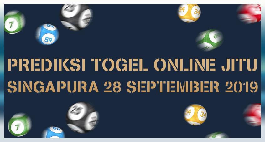 Prediksi Togel Online Jitu Singapura 28 September 2019