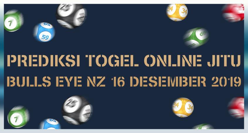 Prediksi Togel Online Jitu Bulls Eye Nz 16 Desember 2019