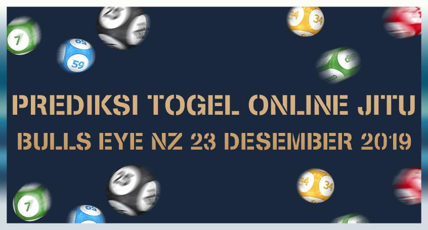 Prediksi Togel Online Jitu Bulls Eye Nz 23 Desember 2019