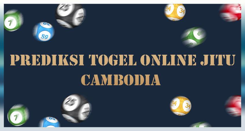 Prediksi Togel Online Jitu Cambodia 01 Agustus 2020