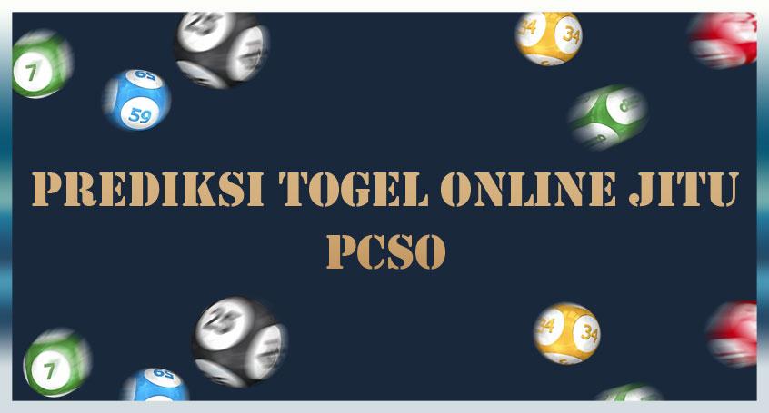 Prediksi Togel Online Jitu Pcso 01 September 2020