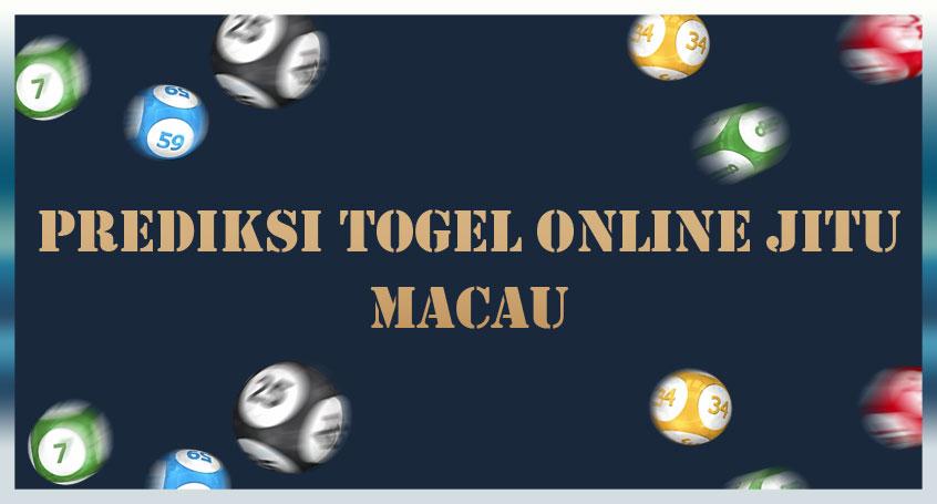 Prediksi Togel Online Jitu Macau 26 Oktober 2020