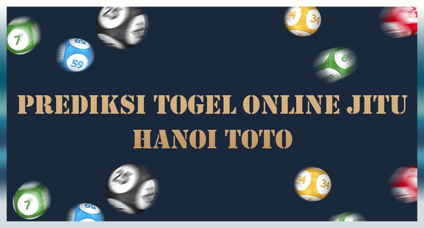 Prediksi Togel Online Jitu Hanoi Toto 10 November 2020